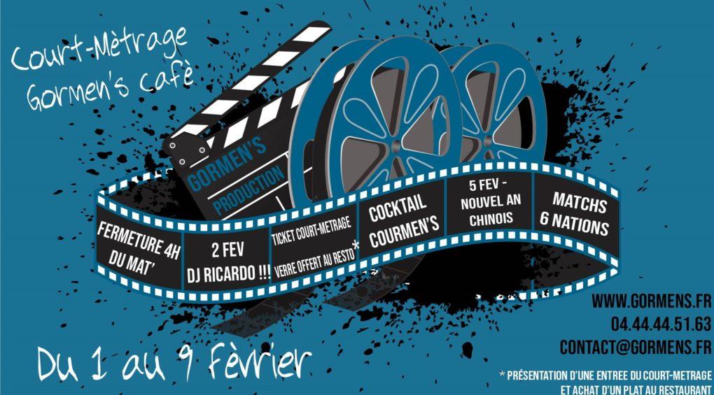 affichage court métrage